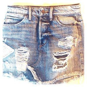 Guess Denim Mini Skirt!!